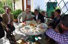 Επίσκεψη κου Στ. Γκίκα , κας  Νικολέττας Πανδή και  κου Σπύρου Βλαχόπουλου