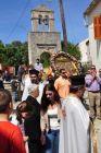 Η λιτανεία της εικόνας της Παναγίας των Βελλιανιτών