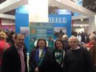 FERIEN TRAVEL & TOURISM EXHIBITION 2015 - VIENNA, AUSTRIAThe Greek consul in Austria and the Director of EOT in Austria with Antiperifereiarchi Lefkada