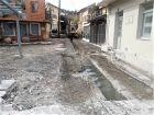 Eργασίες ανάπλασης του κεντρικού πεζόδρομου στον οικισμό του  Λογγού